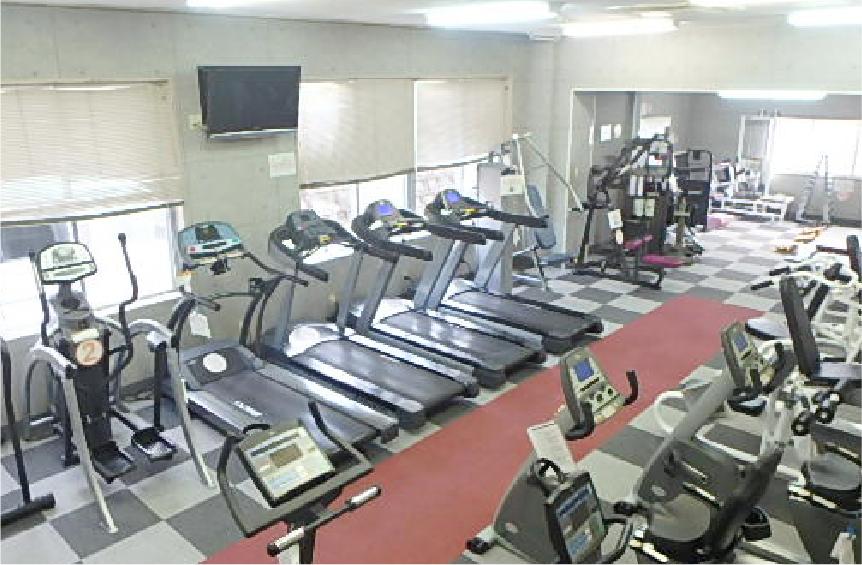 トレーニングスペースの写真